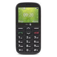 DORO Téléphone portable - Grosses touches - Noir - 1360
