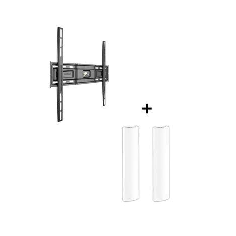 MELICONI Kit 400 - Noir - Support mural et câble management