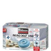 Rubson recharge tabs absorbeur d'humidité 20m² aéro 360° x4