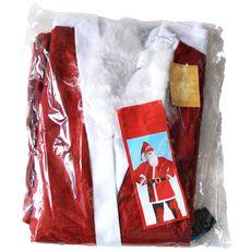 Costume de père noël en 5 pièces x1 1 pièce