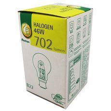 POUCE Pouce Ampoule halogène B22 sphérique 46w 702 lumen x1 702 lumen 1 pièce