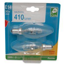 Auchan halogène E14 candle 30W