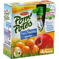 Materne pom potes mirabelle sans sucre ajouté 4x90g