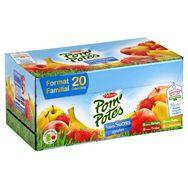 Pom potes sans sucre ajoutés multi variétés x20 -90g