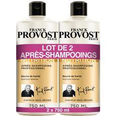 Franck Provost après-shampooing expert nutrition 2x750ml