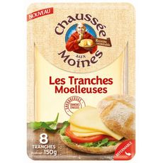 CHAUSSEE AUX MOINES Fromage en tranche 150g
