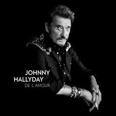 Johnny Hallyday cd de l'amour 1 pièce