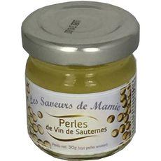 LES SAVEURS DE MAMIE Perles de vin de Sautermes 30g