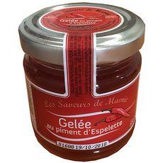LES SAVEURS DE MAMIE Gelée au piment d'Espelette 100g