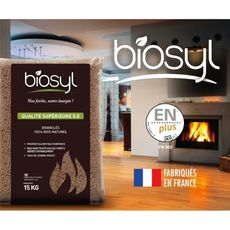 Biosyl Granules Bois Pellex Cent Pour Cent Naturel 15kg Pas Cher A Prix Auchan