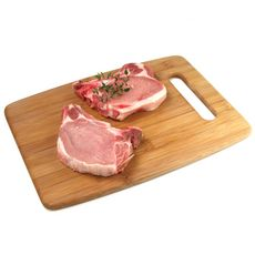 Côte de porc première avec os x2 - 300g
