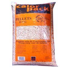 CALOR PACK Calorpack Pellets granulés de bois 100% résineux din plus 6mm 15kg 15kg