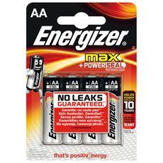 ENERGIZER Energizer piles alcaline ultra plus LR06 x4