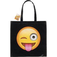 cabas emoticon sourire 40x40cm