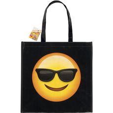cabas emoticon lunette de soleil 40x40cm