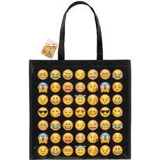 cabas emoticon mix icones 40x40cm