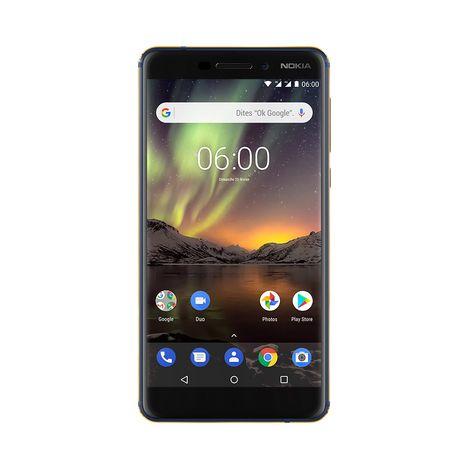 NOKIA Smartphone Nokia 6.1 - 32 Go - 5,5 pouces - Bleu