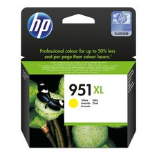 HP Cartouche d'Encre HP 951XL Jaune grande capacité Authentique (CN048AE)