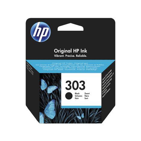 HP Cartouche d'Encre HP 303 Noire Authentique (T6N02AE)