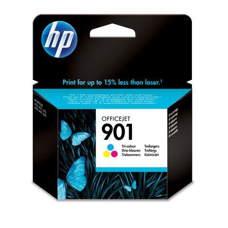 HP Cartouche d'Encre HP 901 Trois Couleurs Authentique (CC656AE)
