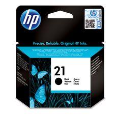 HP Cartouche d'Encre HP 21 Noire Authentique (C9351AE)