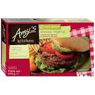 Amy's Kitchen steak végétal aux légumes sans gluten x4 -270g
