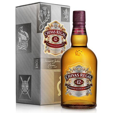 CHIVAS Scotch whisky blended écossais 12 ans 40%