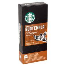 Starbucks café espresso Guatemala nespresso capsule x10 -55g
