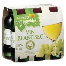 Les Petits Vignobles Espagne blanc 6X25cl