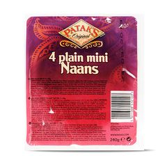 Patak's mini pain naan nature 240g