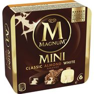 Magnum mini classic amande white x6 -266g