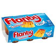 Flanby flan vanille nappé de caramel 6x100g