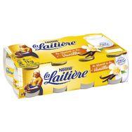 La Laitière Yaourt au lait entier vanille 8x125g