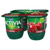 Danone Activia fruits cerise 4x125g