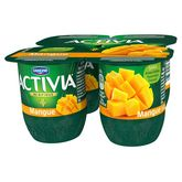 Danone Activia fruits mangue 4x125g