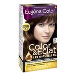 Coloration crème permanente Les Naturelles EUGENE COLOR, marron clair doré n°76, bo...