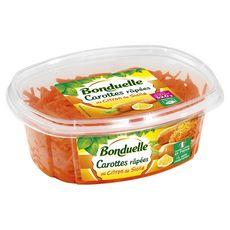 BONDUELLE Salade de carottes râpées au citron assaisonnée 320g