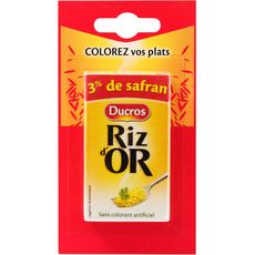 DUCROS Riz d'or au safran sans colorant artificiel 8,4g
