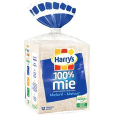 Harry's 100% mie nature grandes tranches 500g