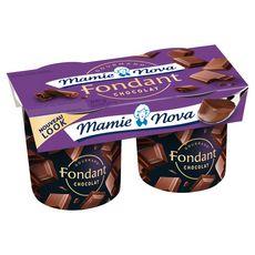 Mamie Nova dessert fondant chocolat 2x150g