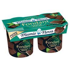 Mamie Nova dessert gourmand chocolat menthe 2x150g