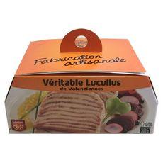 SAVEUR EN OR Lucullus véritable de Valenciennes 8 à 12 portions 500g