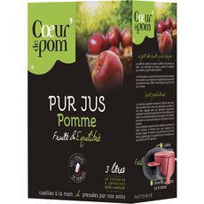 Coeur de Pom' jus pomme 3l