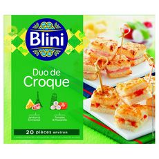 Blini Duo de croque 190g