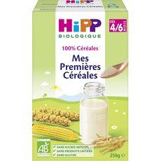 HIPP Mes premières céréales bio en poudre dès 4 mois 250g