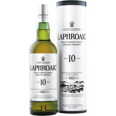 LAPHROAIG Scotch whisky single malt ecossais 40% 10 ans avec étui 70cl