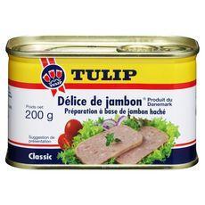 TULIP Délice de jambon, préparation à base de jambon haché 200g