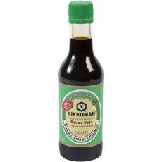 KIKKOMAN Kikkoman sauce soja teneur réduite sel bouteille verre 250ml