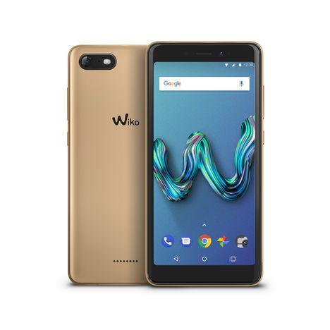 Smartphone Tommy 3 - 16 Go - 5,5 pouces - Or WIKO pas cher à prix Auchan b94c89026c3b