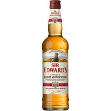 Sir Edward's finest scotch whisky wood casks 40° -70cl
